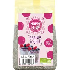 HAPPY BIO Graines de chia 250g