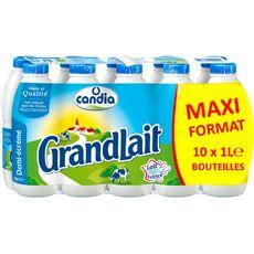 Grandlait lait demi-écréme 10x1l