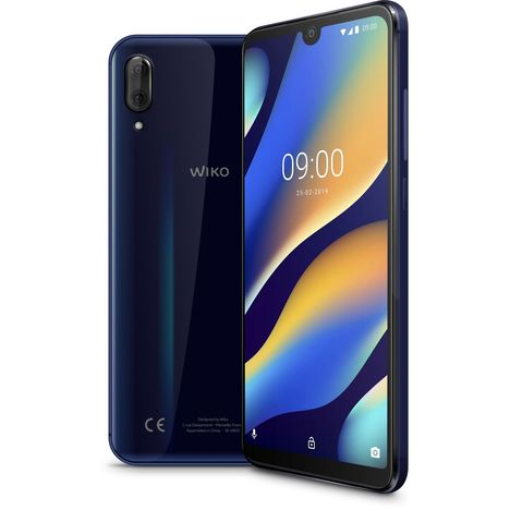 WIKO Smartphone VIEW3 LITE - 32 Go - Anthracite - 6.09 pouces - 4G