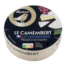 AUCHAN GOURMET Camembert moulé à la louche 250g