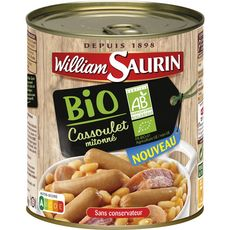 William Saurin cassoulet bio 840g