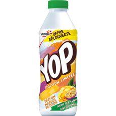 YOP Yaourt à boire à la mangue et aux fruits de la passion 850g