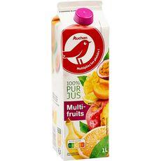 Auchan jus multifruits 1l
