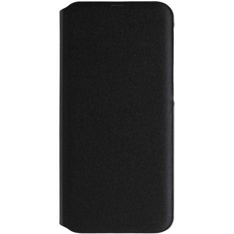 SAMSUNG Etui à rabat pour Galaxy A40 - Noir et bleu