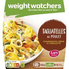 Weight Watchers tagliatelles poulet champignons 300g