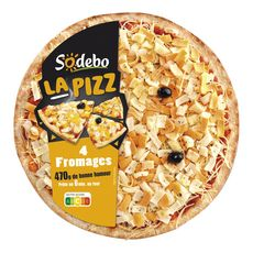 Sodeb'O SODEBO Pizza 4 fromages