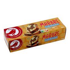Auchan marbré au chocolat 300g