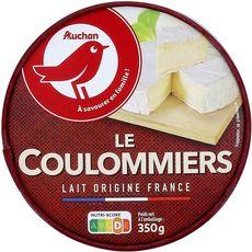 AUCHAN Coulommiers fabriqué en Normandie 350g