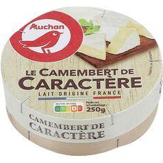 AUCHAN Camembert de caractère 250g