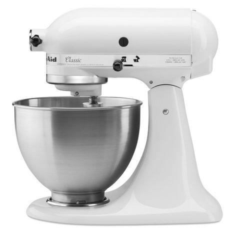 KITCHENAID Robot pâtissier multifonction - 5K45SSEWH - Blanc