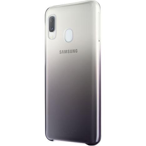 SAMSUNG Coque Evolution pour Galaxy A20e - Noir/Transparent