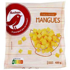 Auchan morceaux de mangues 450g
