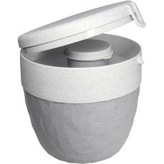 KOZIOL Koziol bento box gris 1l collector 1 pièce