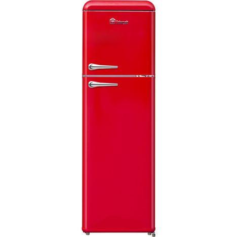 TRIOMPH Réfrigérateur 2 portes TLDP250R, 250 L, Froid statique