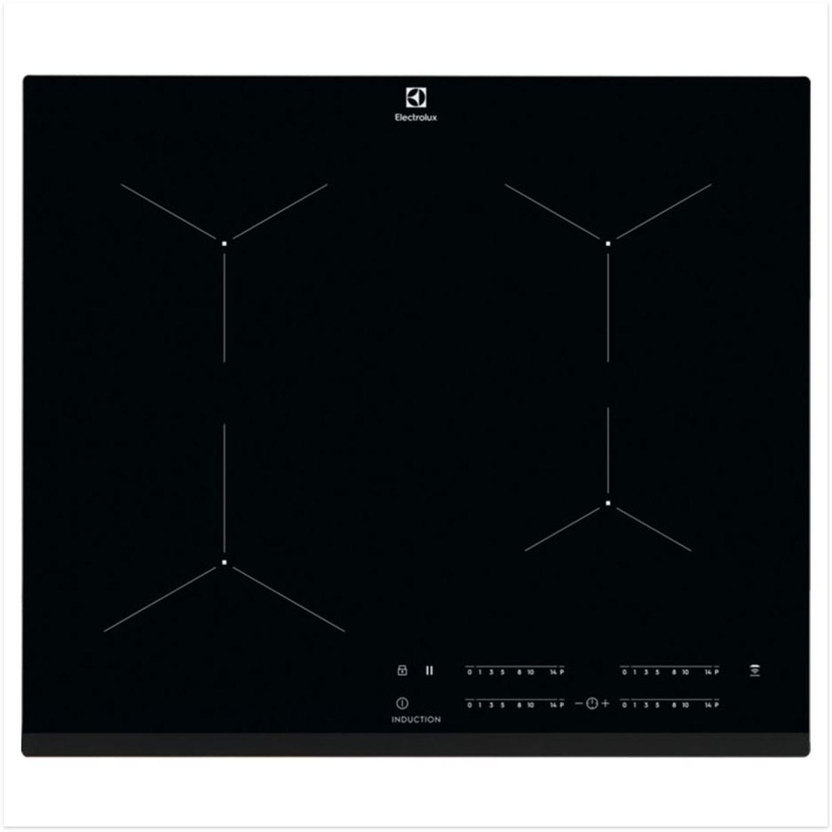 Table de cuisson à induction EIT61443B, 59 cm, 4 foyers
