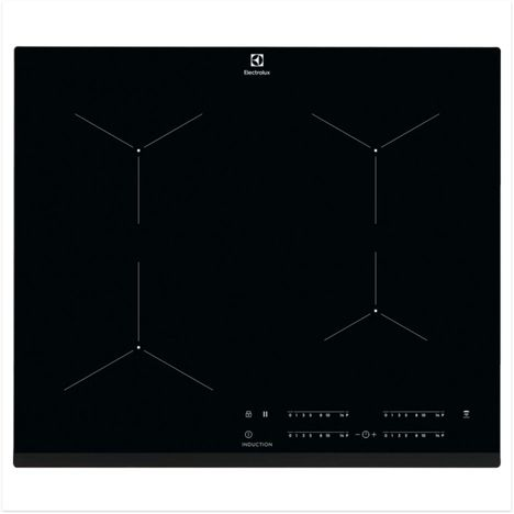 ELECTROLUX Table de cuisson à induction EIT61443B, 59 cm, 4 foyers