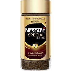 Nescafé lyophilisé spécial filtre 200g