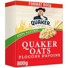 Quaker Flocons d'avoine 800g