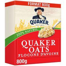 QUAKER Quaker Flocons d'avoine 800g 800g