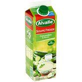 Alvalle gazpacho de concombre et menthe 1l
