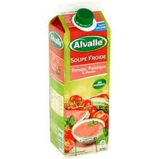 Alvalle soupe froide de tomate pastèque 1l