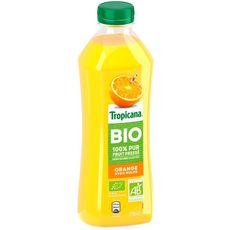 Tropicana pur jus d'orange bio 75cl