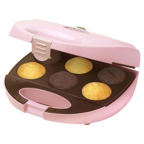 BESTRON Appareil à cupcakes DCM8162 Sweet Dreams, Rose