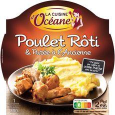La Cuisine d'Océane poulet rôti et purée à l'ancienne 300g