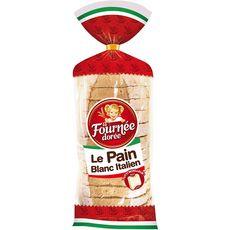 Fournée Dorée pain blanc italien 550g