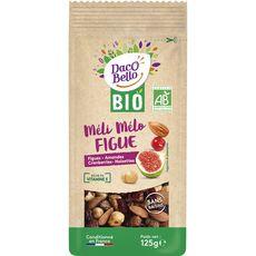 Daco bello Méli-mélo bio de figues, amandes, cramberries et noisettes 125g