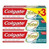 Colgate dentifrice total interdentaire 3x75ml