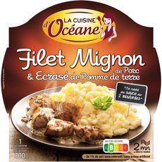 La Cuisine d'Océane filet mignon de porc écrasé de pdt 300g