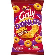 CURLY Curly Donuts à la cacahuète caramélisée sucrée-salée ss huile de palme 100g 100g