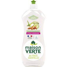MAISON VERTE Liquide vaisselle écologique huile d'amande douce 750ml