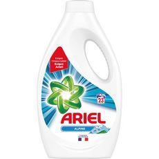 Ariel lessive diluée alpine 23 lavages 1,265l