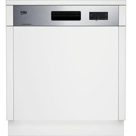 BEKO Lave-vaisselle encastrable PDSN253100X BANDEAU, 13 couverts, 60 cm, 46 dB, 5 programmes