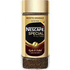 Nescafé lyophilisé spécial filtre 100g