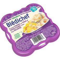 Blédina BLEDINA Blédichef assiette choux-fleurs et pommes de terre dès 15 mois