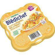 Blédina Blédina Blédichef assiette légumes riz poulet au curry dès 24 mois 250g