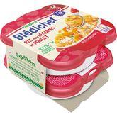 Blédina Bledichef méli mélo de légumes riz poulet 2x230g dès12mois
