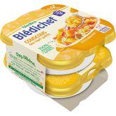 Blédina Blédina Blédichef assiette couscous des tout petits dès 12 mois 2x230g