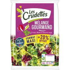 Les Crudettes mélange gourmand 320g +20%