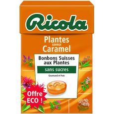 Ricola bonbons aux plantes saveur caramel 50g offre éco