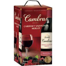 CAMBRAS Espagne Cabernet-sauvignon, merlot Vin d'Espagne rouge 5L