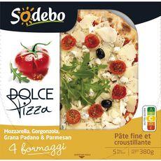 SODEBO Pizza dolce 4 formaggi 380g