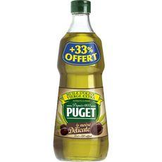 Puget huile d'olive noire délicate 75cl +33%offert