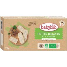 Babybio Biscuits à la noisette  dès 12 mois 160g