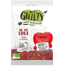 NOT GUILTY Bonbons bio à la grenade sans gélatine animale 100g
