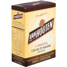 VAN HOUTEN L'original cacao en poudre non sucré 250g