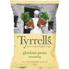 TYRRELL'S Chips saveur pesto 150g